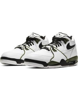 Zapatillas Nike Air Flight 89 White/Black Olive Hombre