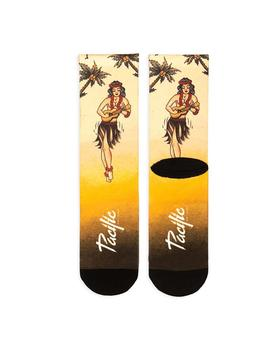 Calcetines Pacific - Co Hula Girl (Yellow) Unisex