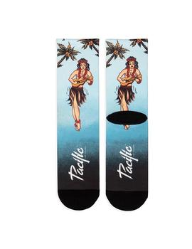 Calcetines Pacific - Co Hula Girl (Blue) Unisex