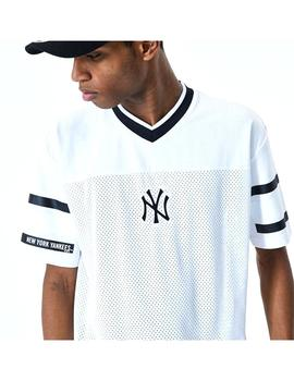 Camiseta New Era Jacquard Oversize New York Yankee