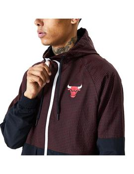 Chaqueta New Era NBA Check Ripsto Chicago Bulls Ho