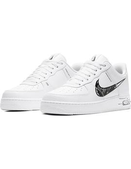 Zapatillas Nike Air Force 1 Lv8 Utility White/Blac