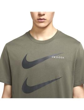 Camiseta Nike Sportswear Swoosh Twlight Marsh/New