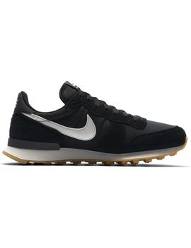 Zapatillas Nike Internationalist Black/Summit Mujer