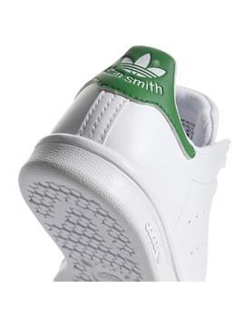 Zapatillas Adidas Stan Smith C Ftwbla/Ftwbla/Verde