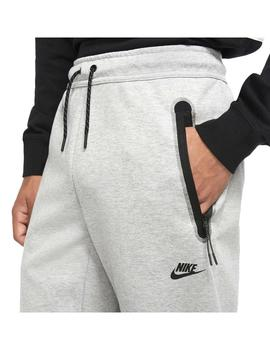 Pantalon Nike Sportswear Tech Fleece Grey/Black Hombre