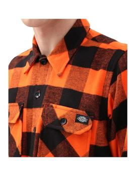 Camisas Dickies Sacramento Relaxed Bright Orange Hombre
