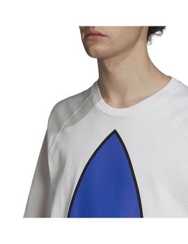 Camiseta Adidas Bg Tf Out Color Blanco/Azul Hombre