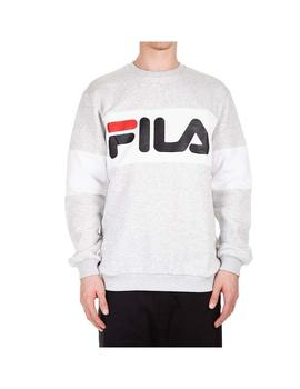 Sudadera Fila Straight Bockled Light Gris Hombre