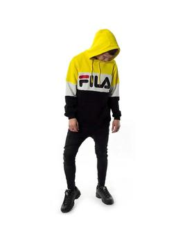 Sudadera Fila Night Blocked Empire Amarillo Hombre