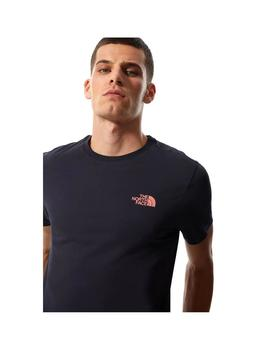 Camiseta The North Face S/S Simple Dome Negro Homb