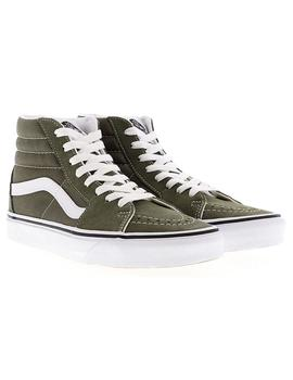 Zapatillas Vans Sk8-Hi Grape Leaf/True White Mujer