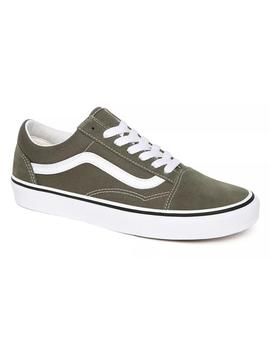 Zapatillas Vans Old Skool Grape Leaf/True White