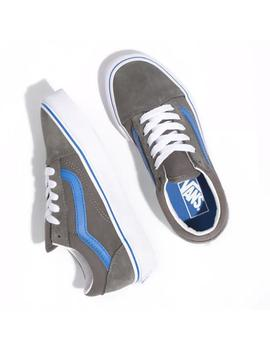 Zapatillas Vans Old Skool (Pop) Gargoyle/Nebulas B