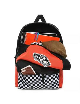 Mochila Vans Realm Backpack Paprika/Checkerboard U