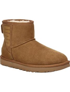 Botas Ugg W Classic Mini UGG Rubber Logo Chestnut Mujer