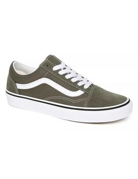 Zapatillas Vans Old Skool Grape Leaf/True White Hombre