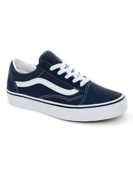 Zapatillas Vans Old Skool India Ink/True White Mujer