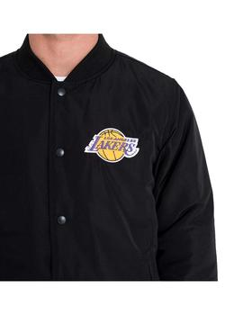 Chaqueta New Era NBA Team Los Angeles Lakers Blk Hombre
