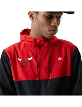 Chaqueta New Era NBA Colour Chicago Bulls Blk Hombre