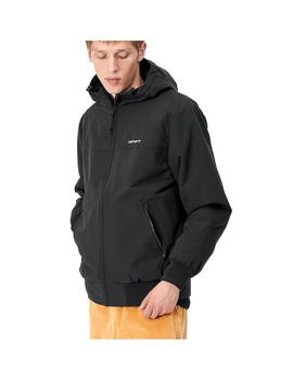 Cazadora Carhartt WIP Hooded Sail Jacket Black / W