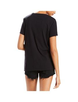 Camiseta Levis The Perfect Mineral Black Mujer