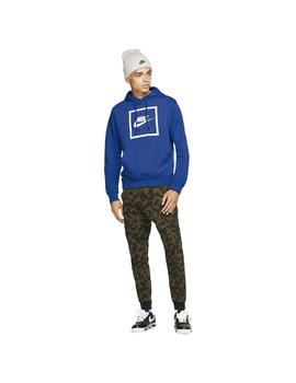 Sudadera Nike Air Game Royal/White Hombre