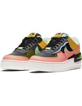 Zapatillas Nike Air Force 1 Shadow SE Solar Flare Mujer