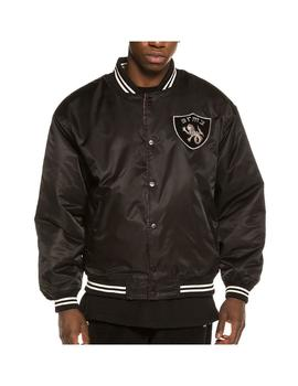 Chaqueta Grimey Call Of Yore Reversible Satin Blac Hombre