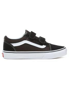 Zapatillas Vans Old Skool Black/True White Niños