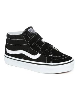Zapatillas Vans Sk8-Mid Reissue Black/True White Niños