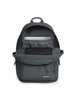 Mochila Eastpak Padded Double Black Denim Unisex