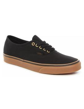 Zapatillas Vans Authentic Black/Rubber Hombre