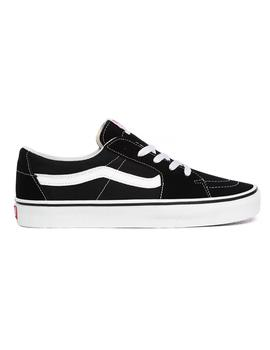 Zapatillas Vans Sk8-Low Black/True White Hombre