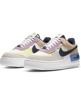 Zapatillas Nike Air Force 1 Shadow Photon Dust/Roy Mujer