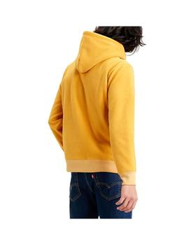 Sudadera Levis Polar Fleece Hoodie Golden Yellow Hombre