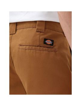 Pantalón Dickies Slim Fit Work Brown Duck