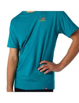 Camiseta New Balance NB Essentials Embroidered Tee Hombre