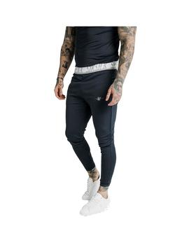 Pantalon SikSilk Scope Tape Track Navy Hombre