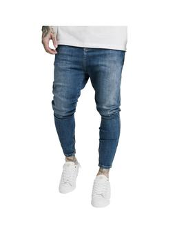 Pantalon SikSilk Drop Crotch Denims Midstone Blue