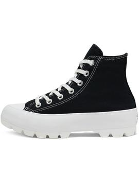 Zapatillas Converse Ctas Lugged Hi Black/White/Bla