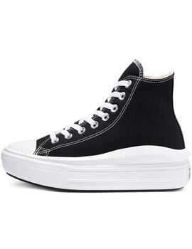 Zapatillas Converse Ctas Move Hi Black/Natural Ivo