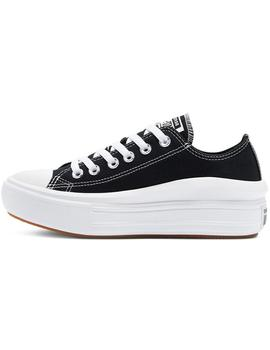 Zapatillas Converse Ctas Move Ox Black/White/White
