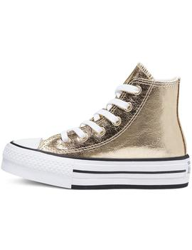 Zapatillas Converse Ctas Eva Lift Hi Gold/White/Bl