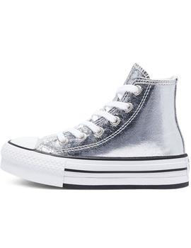 Zapatillas Converse Ctas Eva Lift Hi Grey/White/Bl