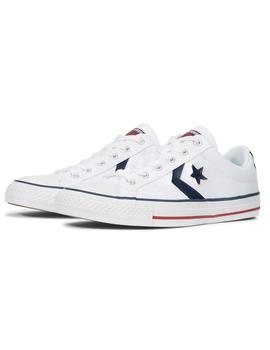 Zapatillas Converse Star Player Ox White/White/Navy Hombre