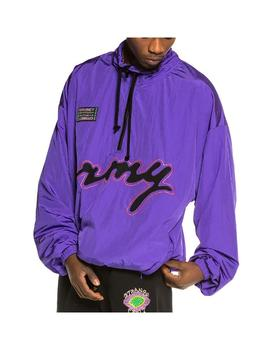 Chaqueta Grimey Strange Fruit Raincoat Purple Homb