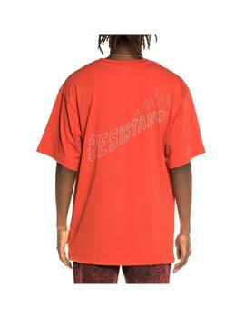 Camiseta Grimey Liveution Tee Red Hombre