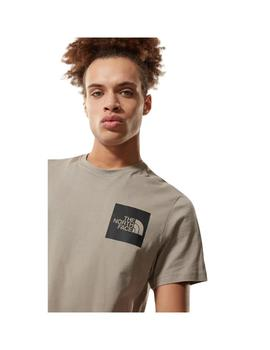 Camiseta The North Face S/S Fine Mineral Grey Hombre
