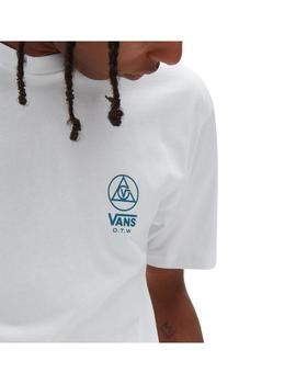 Camiseta Vans Three Points Ss White Hombre